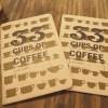 コーヒー手帳「33CUPS OF COFFEE」をゲット