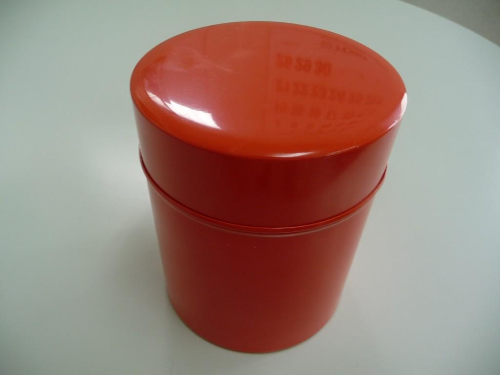 中川政七商店のブリキ缶