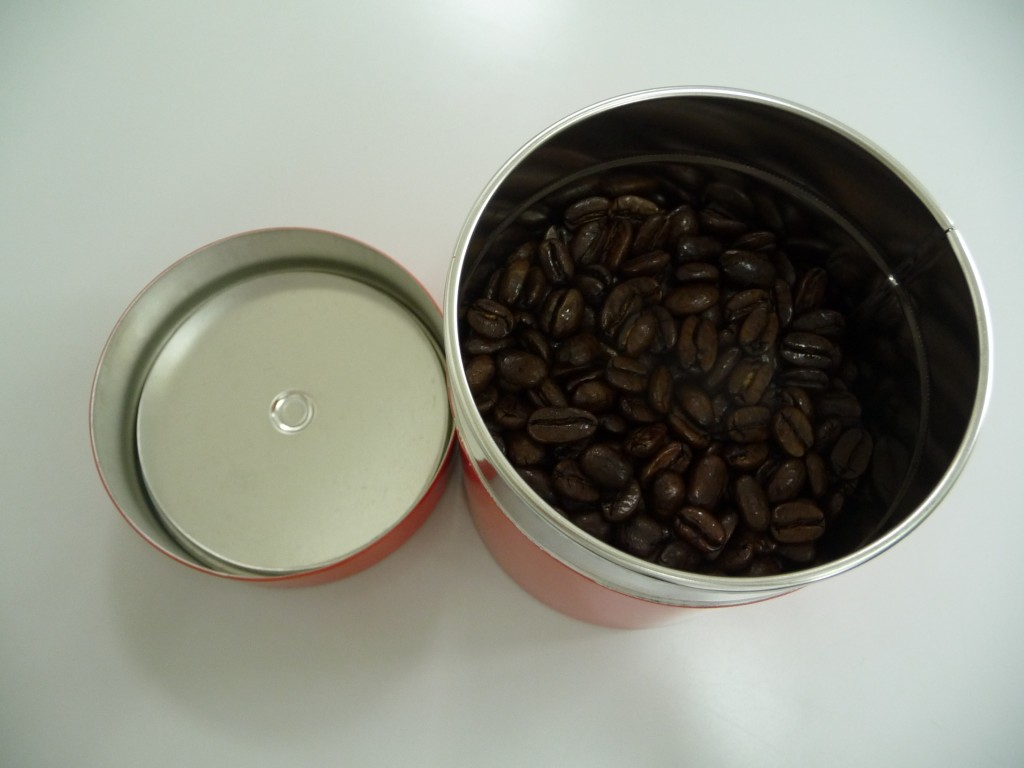 コーヒー入れてみました