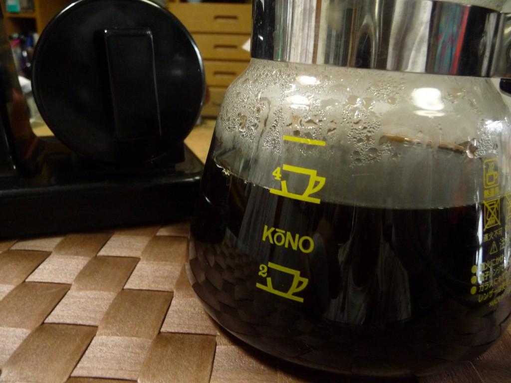 ピッタリ4杯(・∀・)