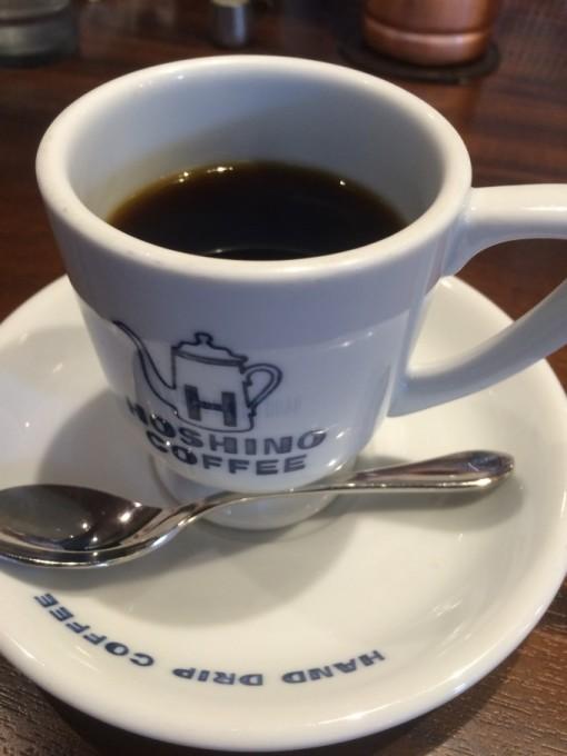ブレンドコーヒーを注文