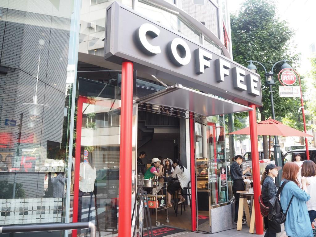渋谷の新名所となるかGORILLA COFFEE