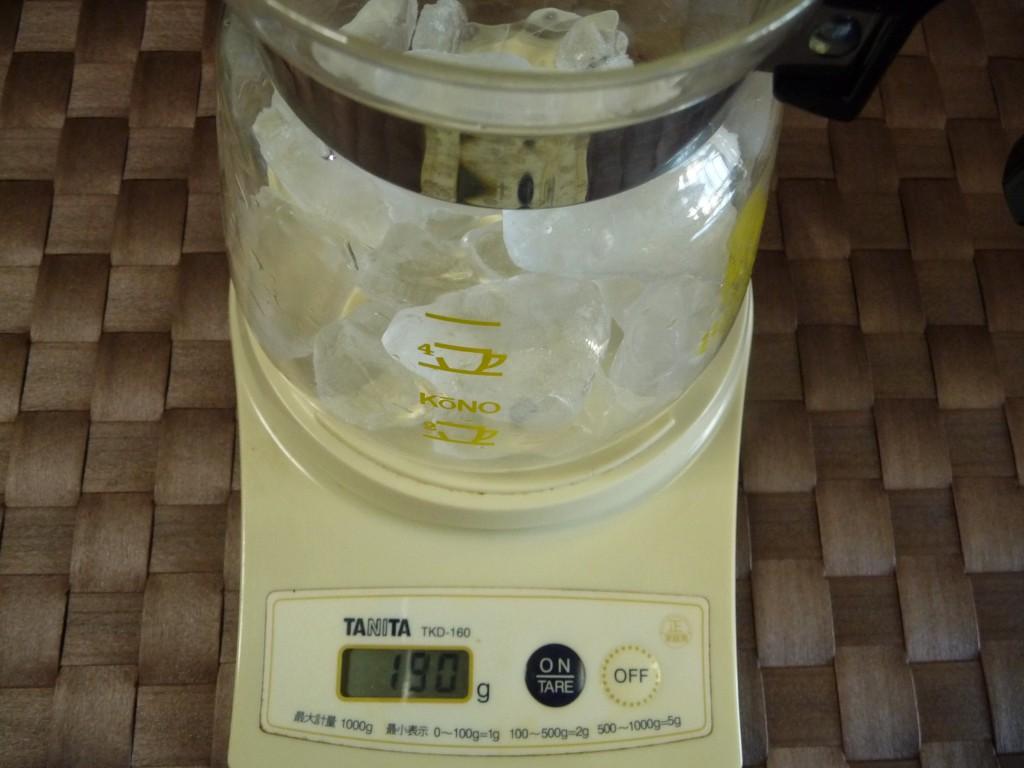 187.5gが氷の分量です