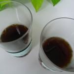 マンデリンとトラジャを飲み比べ(水出しコーヒー)