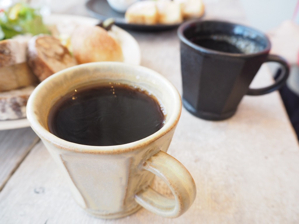 お楽しみのコーヒー